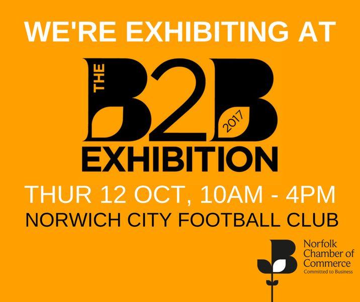 Meet us at the Norfolk B2B show 2017