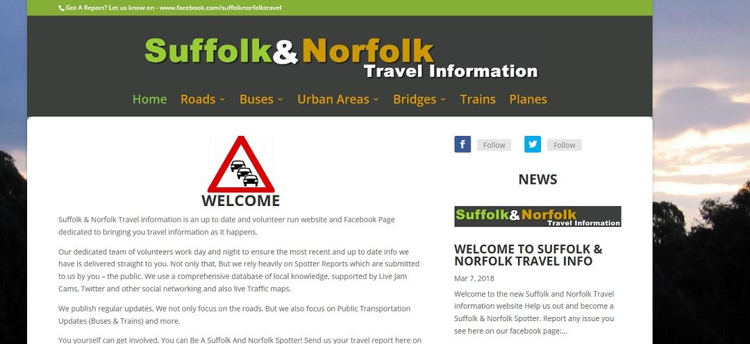 Suffolk & Norfolk Travel